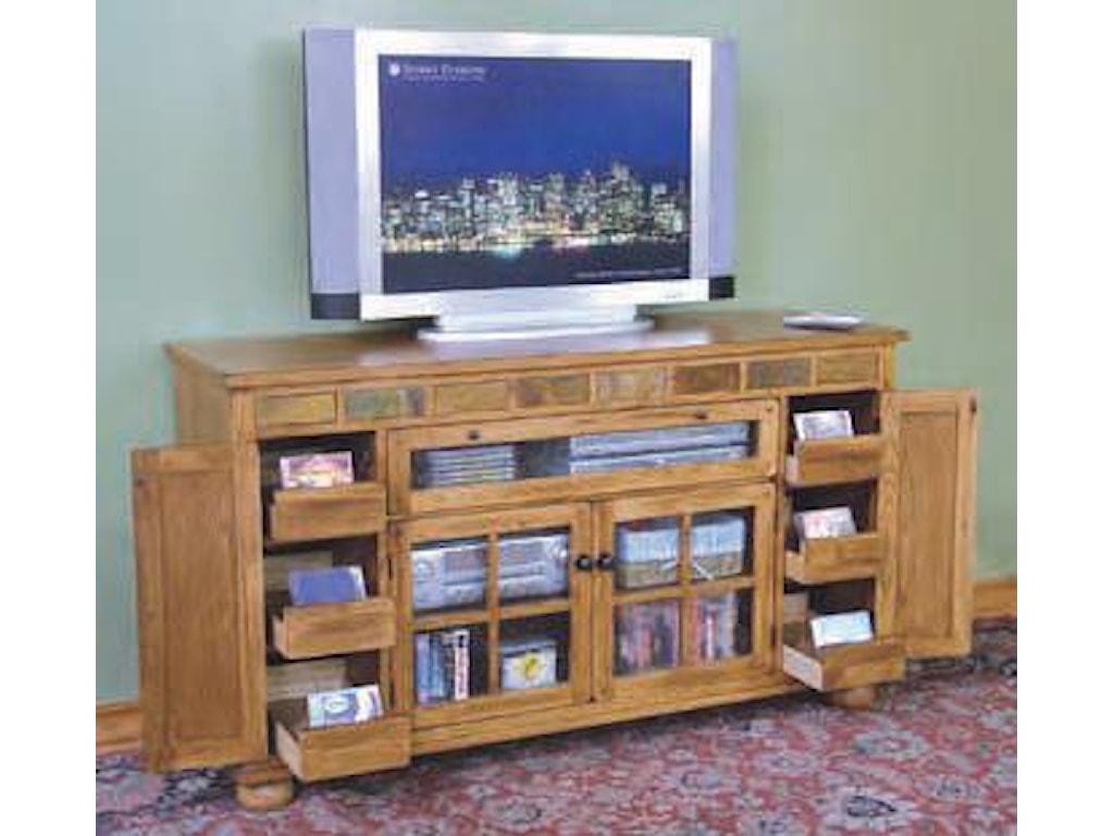 Sunny Designs SedonaCounter Height TV Console