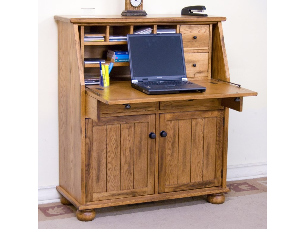 Market Square Morris HomeScottsville Drop Leaf Desk