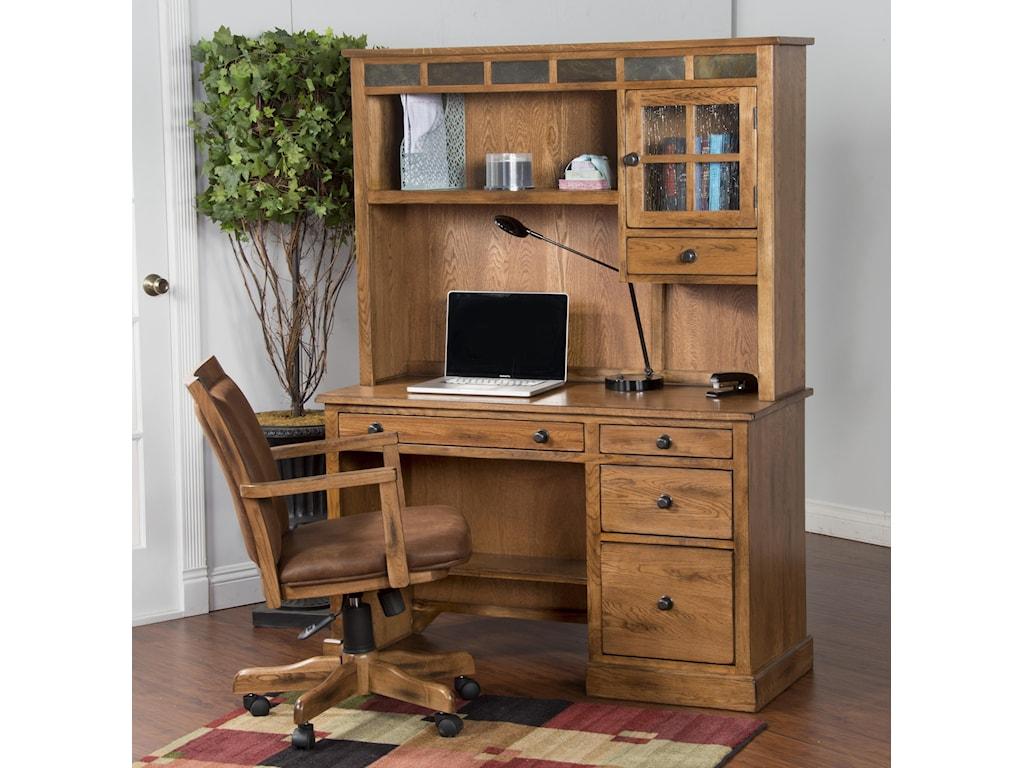 Sunny Designs SedonaSingle Pedestal Desk