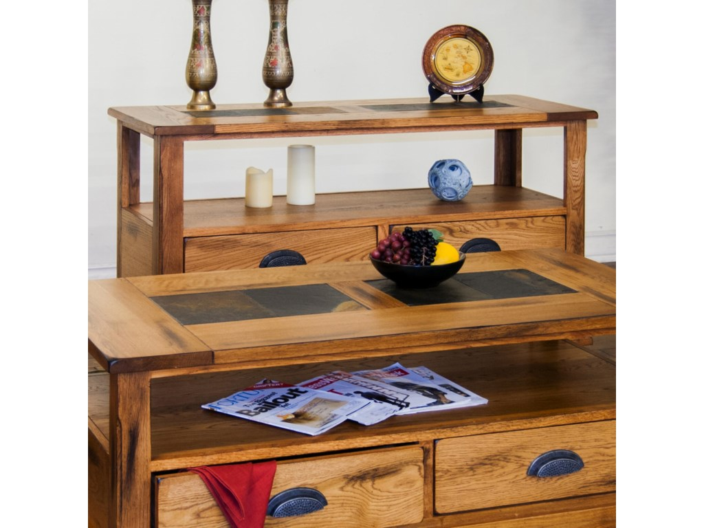 Market Square Morris HomeDuck Lake Sofa Table