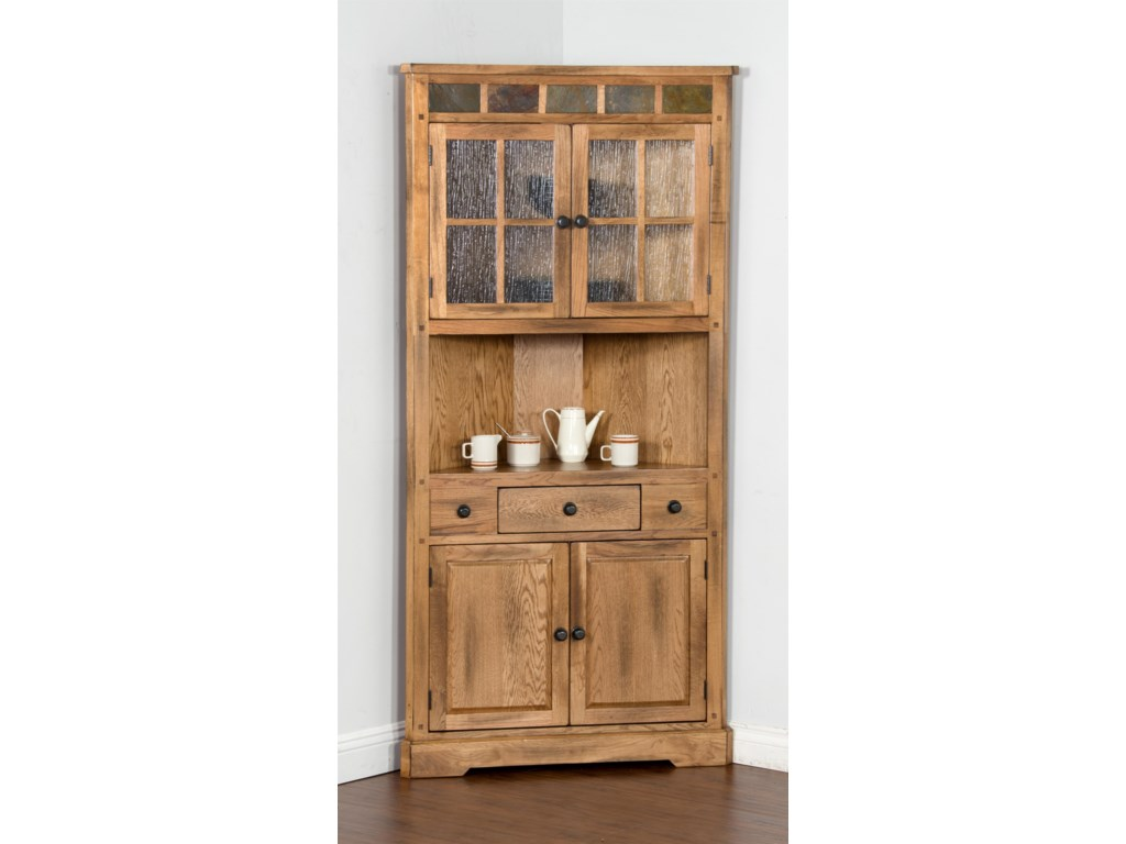 entry shop cabinet and mahogany lighted hall cabinets curios corner curio