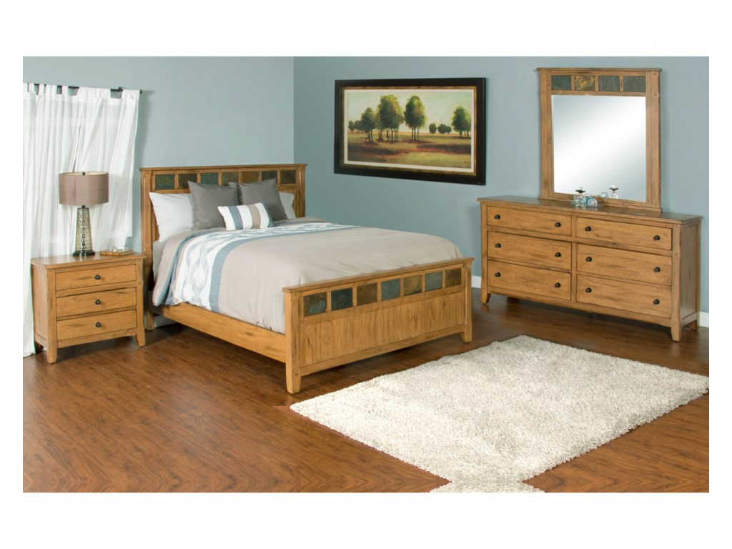 Sunny Designs SedonaQueen Bedroom Group