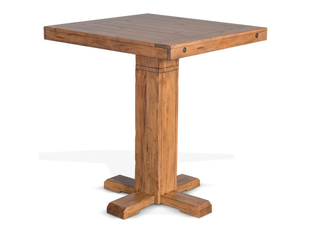 Sunny Designs SierraAdjustable Height Pub Table