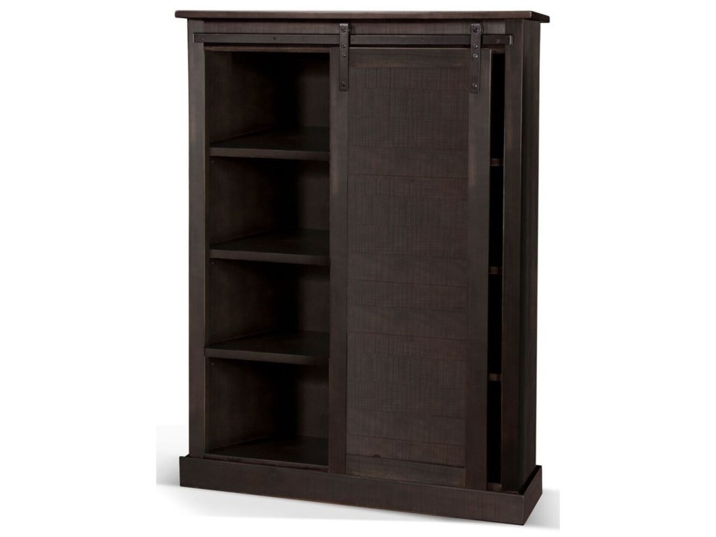 Sunny Designs Sunny OfficeBarn Door Bookcase