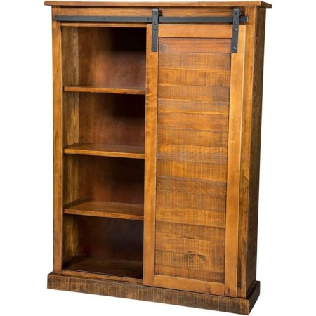 Barn Door Bookcase