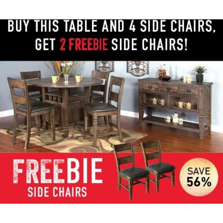 Thatcher Dining Set with Freebie!