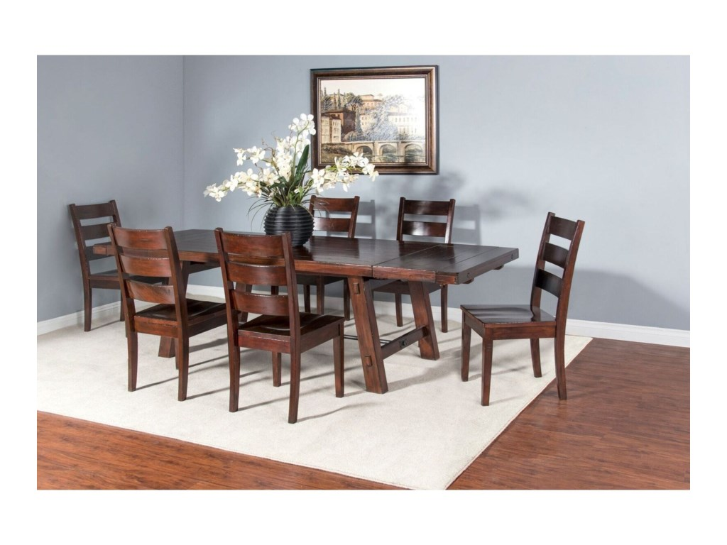 Sunny Designs Vineyard7 Piece Dining Set