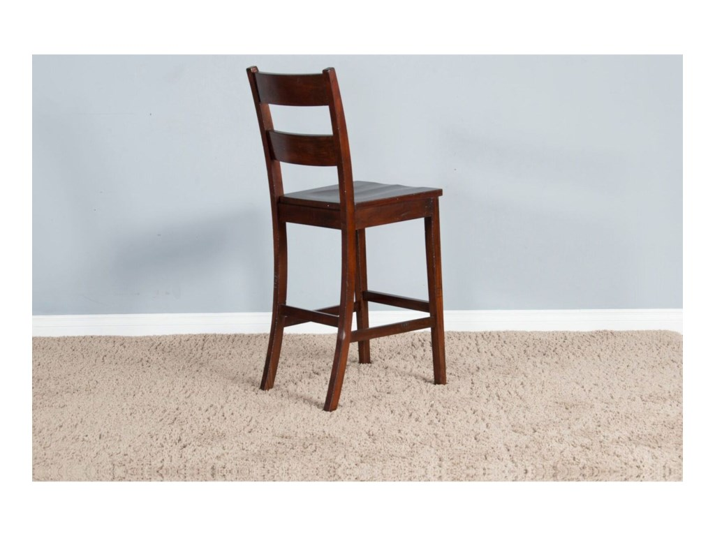 Sunny Designs VineyardLadder Back Bar Stool