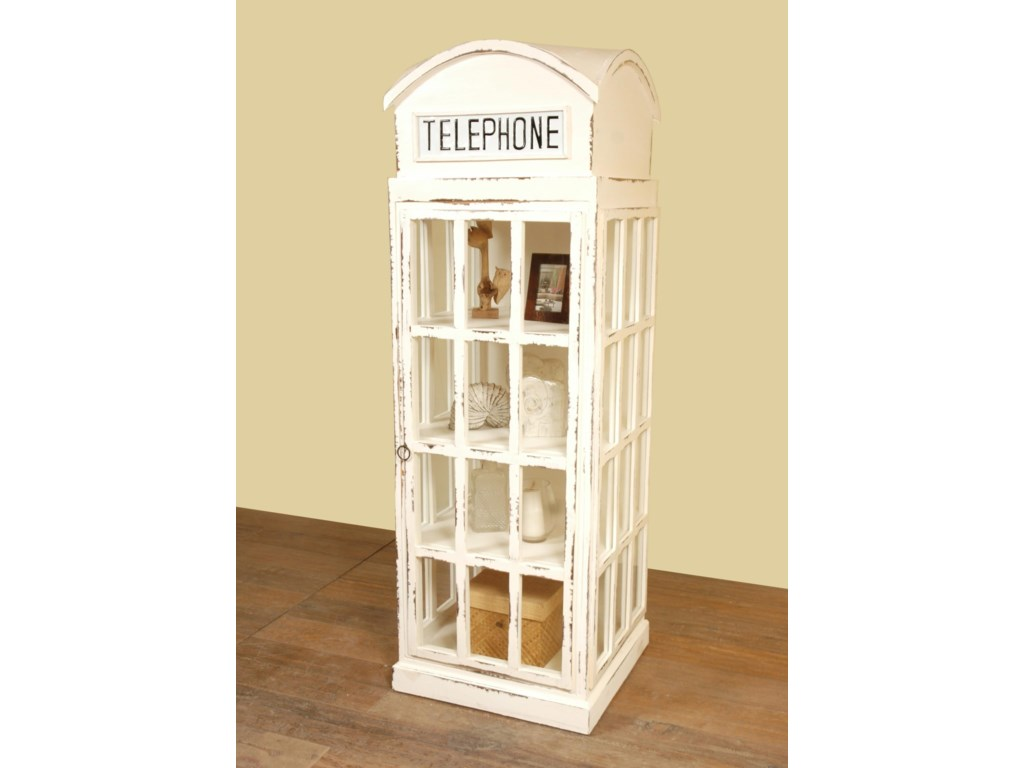 Accessory Cabinets Phone Booth Accessory Cabinet: Antique White ...