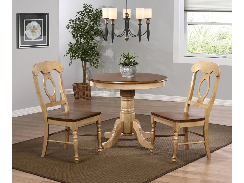 Sunset Trading Co. Blake3PC Dinette Set