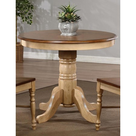 "36"" Round Pedestal Table"