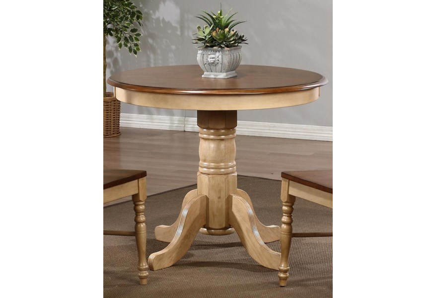 Blake 36 Round Pedestal Dining Table