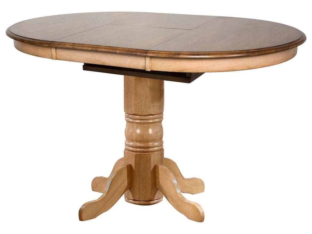 Sunset Trading Co. BlakeCaffe' Height Pedestal Table