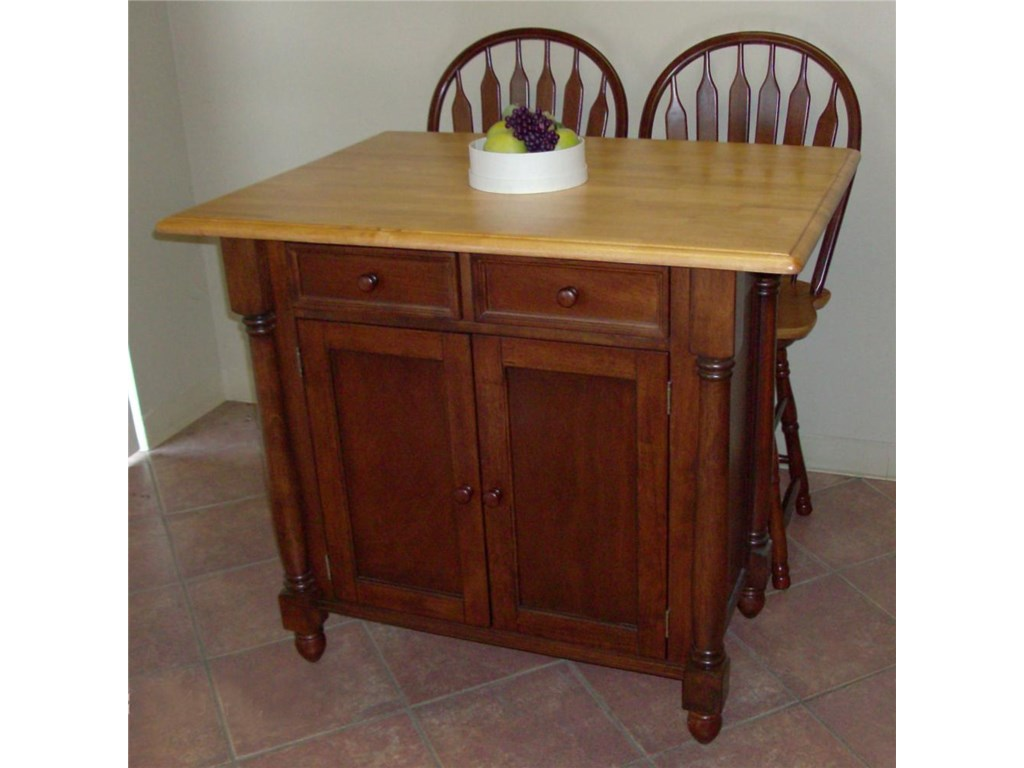 Sunset Trading Co. Sunset Selections Kitchen Island with ...