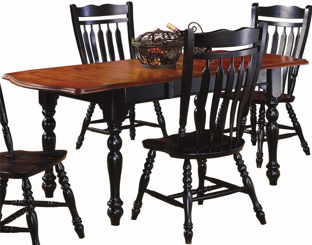 Dining Table with Drop Leaves