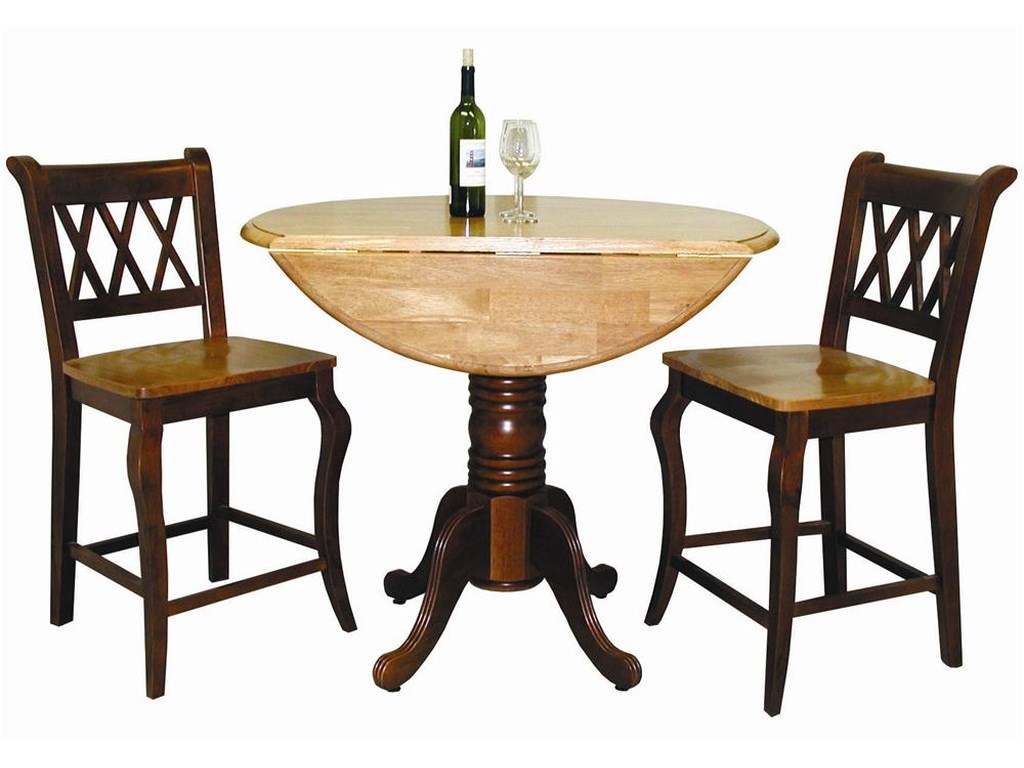 Sunset Trading Co Selections 3 Piece Cafe Set With 2