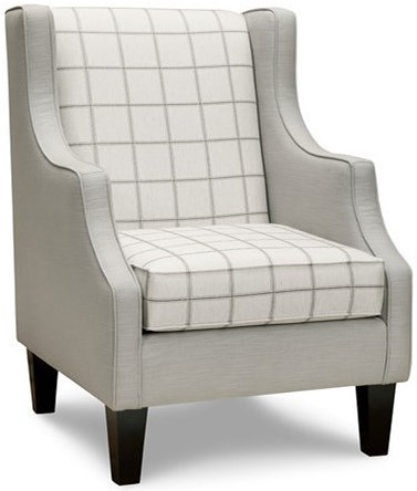Superstyle 10 Accent Chair with Wing Back