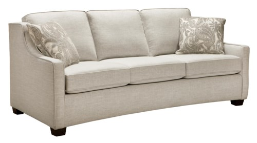 Petrie Mid-Century Sofa | Crate and Barrel | furniture couch