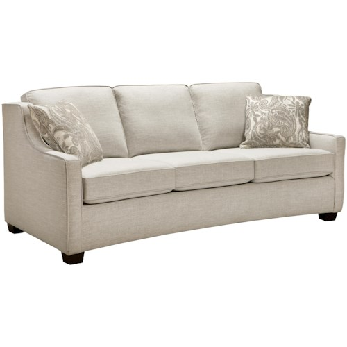 Superstyle 9670 Full Sized Sofa with Three Seats