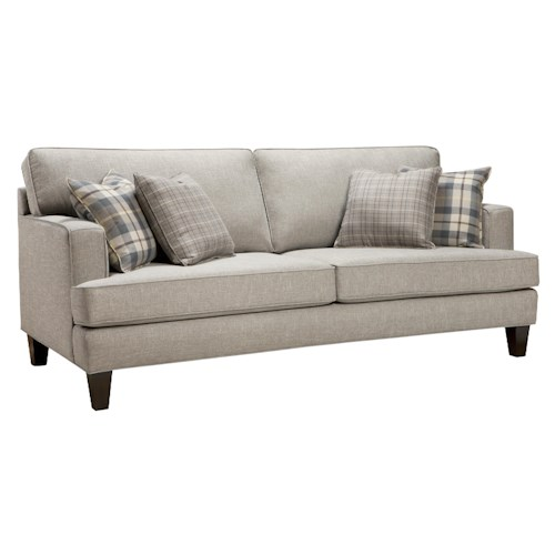 Superstyle 9671 Two Seat Sofa with Casual Contemporary Style