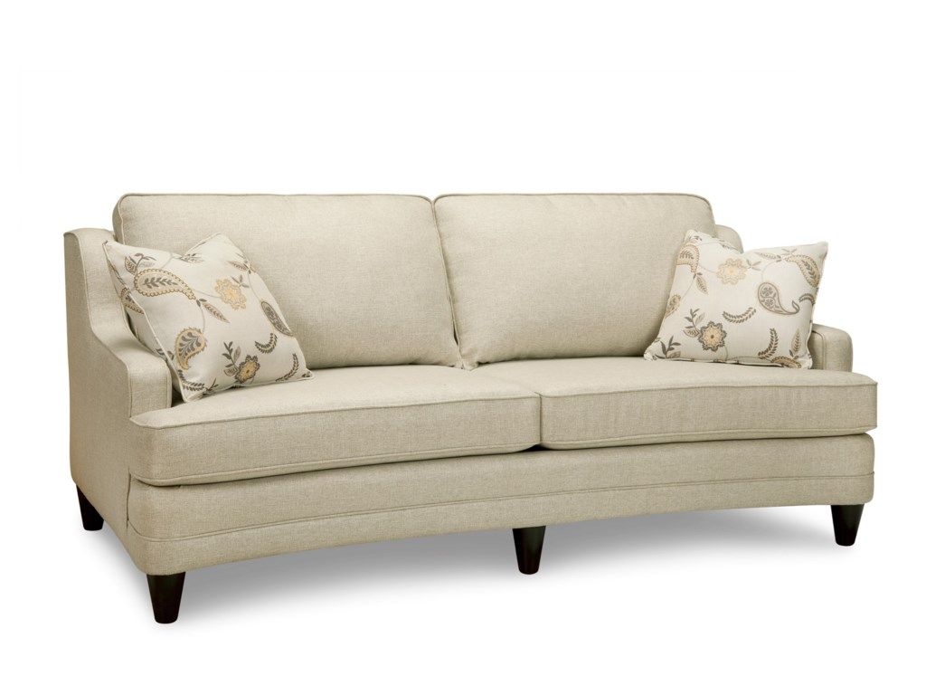 Superstyle 9691Curved Condo Sofa