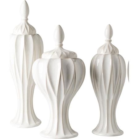 Set of Three Jars