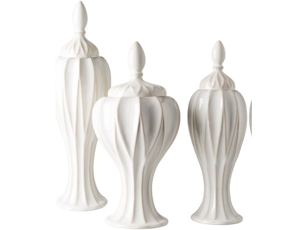 Surya  AnsworthSet of Three Jars