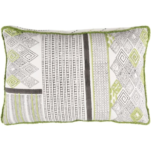 Surya Aba 13 x 19 x 0.25 Pillow Cover