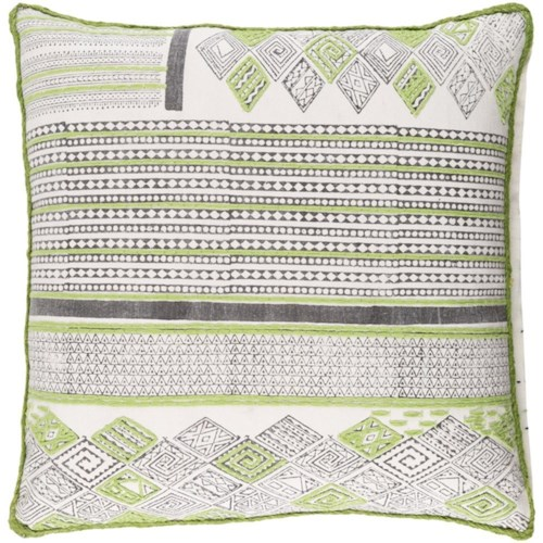 Surya Aba 18 x 18 x 0.25 Pillow Cover