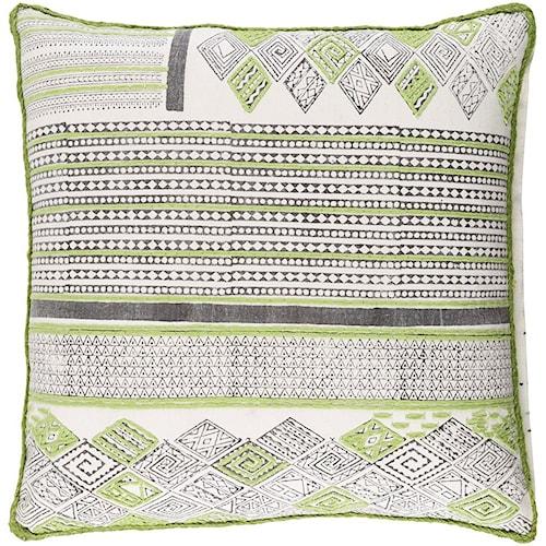 Surya Aba 20 x 20 x 0.25 Pillow Cover