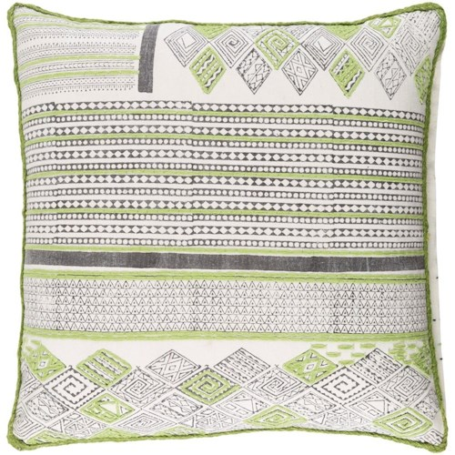 Surya Aba 20 x 20 x 0.25 Pillow Cover