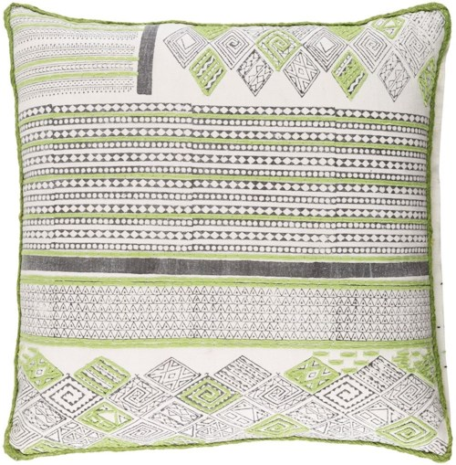 Surya Aba 22 x 22 x 0.25 Pillow Cover