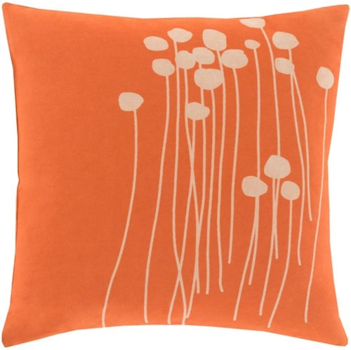 Surya Abo 22 x 22 x 0.25 Pillow Cover