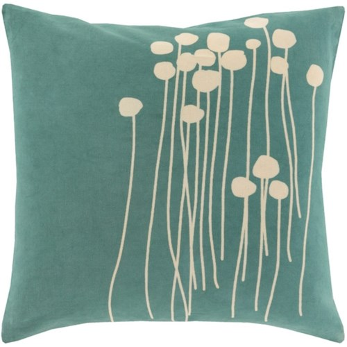 Surya Abo 18 x 18 x 4 Pillow Kit