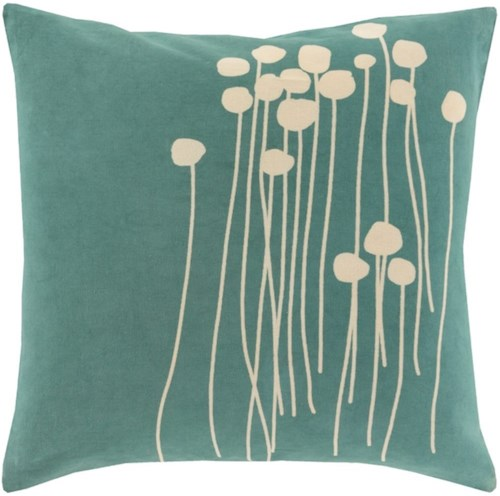Surya Abo 20 x 20 x 0.25 Pillow Cover