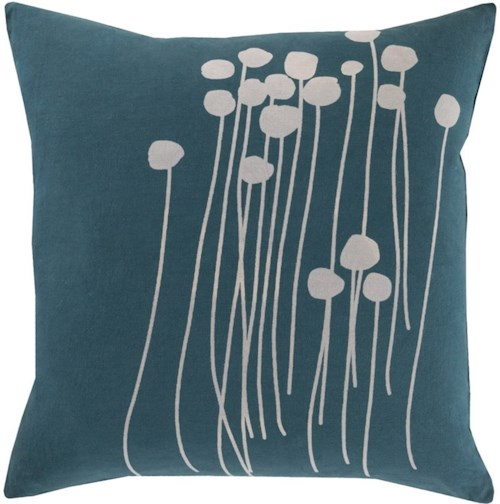 Surya Abo 18 x 18 x 0.25 Pillow Cover