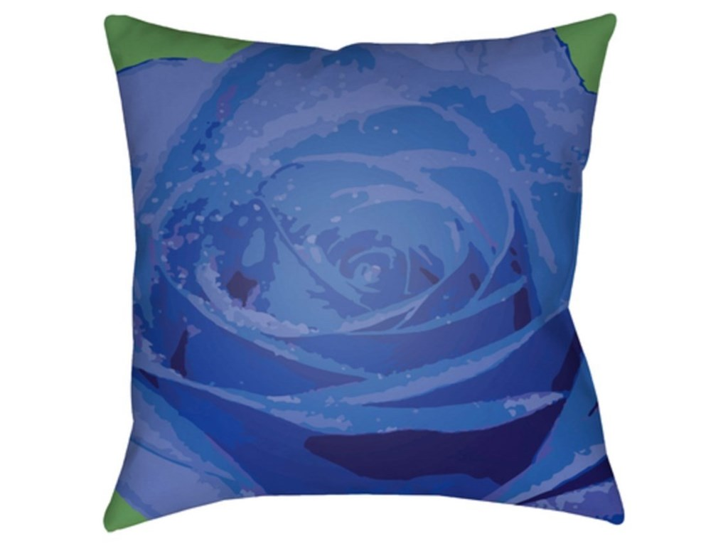 Ruby-Gordon Accents Abstract FloralPillow