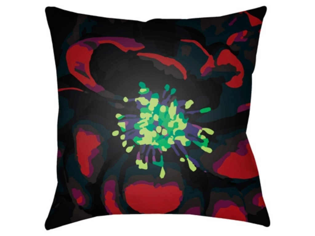 Surya Abstract FloralPillow