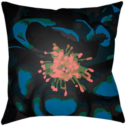 Surya Abstract Floral 20 x 20 x 4 Made to Order