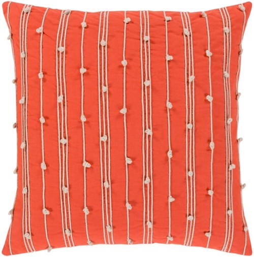 Surya Accretion 22 x 22 x 0.25 Pillow Cover