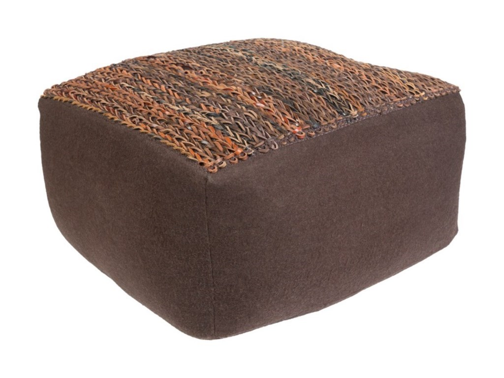 9596 AijaRectangle Pouf