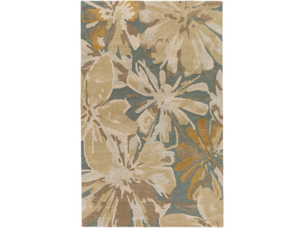Surya Athena2' x 4' Hearth Rug