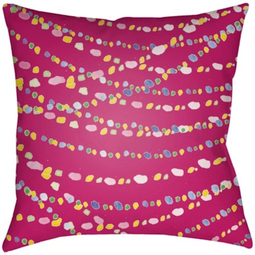 Surya Beads 10403 x 19 x 4 Pillow