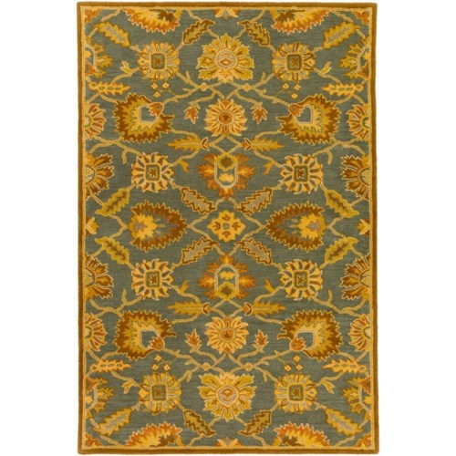Surya Caesar 3 X 12 Runner Rug Wayside Furniture Rugs