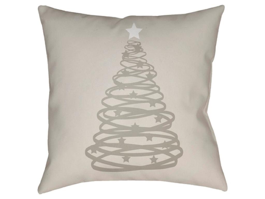 Surya Christmas TreePillow