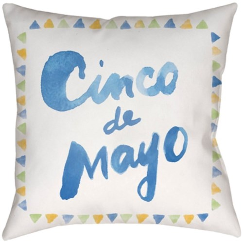Surya Cinco 10447 x 19 x 4 Pillow