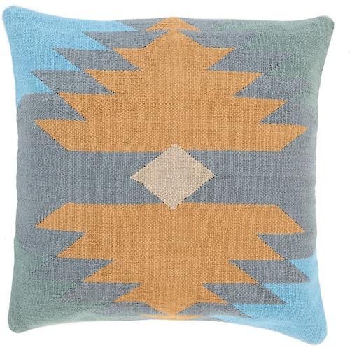 Surya Cotton Kilim 18 x 18 x 0.25 Pillow Cover