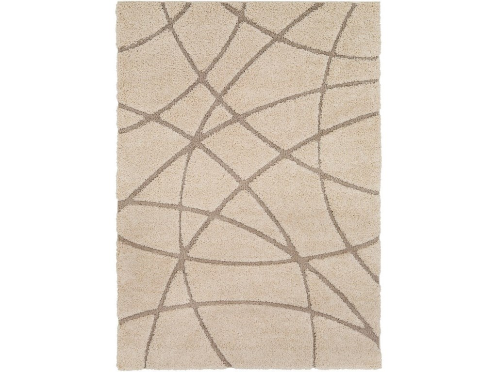 Surya Cut & Loop Shag2' x 3' Rug