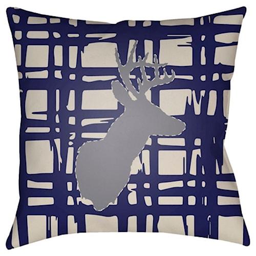Surya Deer 18 x 18 x 4 Made to Order
