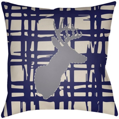 Surya Deer 20 x 20 x 4 Made to Order